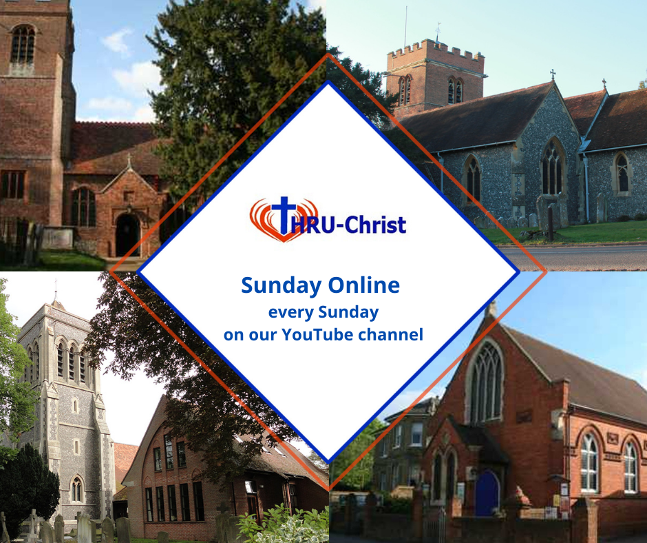 Sunday Online every Sunday on our youtube channel.